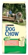 Purina Dog Chow Sensitive z Łososiem i Ryżem dwupak 2x14kg