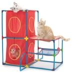 SportPet Designs Cat Play Center centrum kocich zabaw 76cm