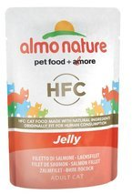 Almo Nature HFC Jelly łososia w galaretce 6x55g