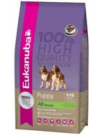 Eukanuba Puppy & Junior Lamb & Rice All Breeds 2,5kg