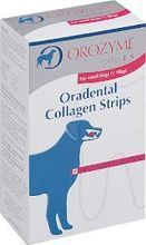 Orozyme Collagen Strips L kolagenowe paski do żucia 141g