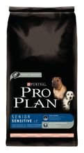 Purina Pro Plan Adult Sensitive 7+ dwupak 2x14kg