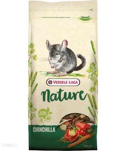 Versele-laga Chinchilla Nature pokarm dla szynszyli 700g