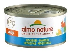 Almo Nature HFC Jelly makrela w galaretce 6x70g
