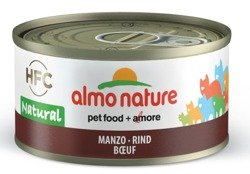 Almo Nature HFC Natural wołowina 6x70g