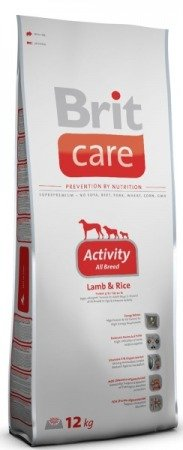 Brit Care Activity All Breed Lamb & Rice 12kg
