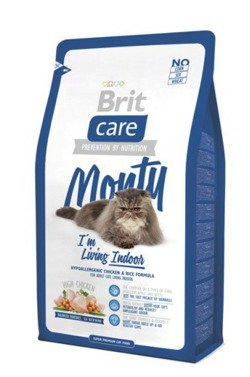 Brit Care Cat Monty I'm Living Indoor Chicken & Rice 2x7kg