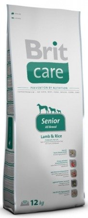 Brit Care Senior All Breed Lamb & Rice dwupak 2x12kg