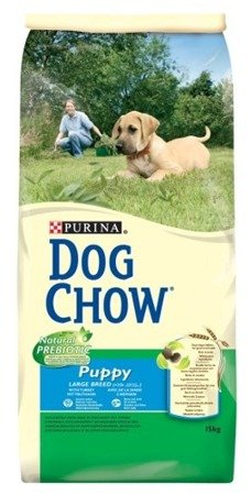 Purina Dog Chow Puppy Large Breed z Indykiem dwupak 2x14kg
