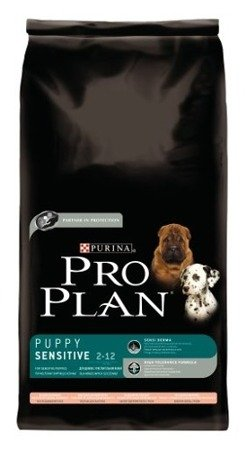Purina Pro Plan Puppy Sensitive dwupak 2x14kg