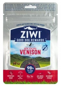 ZiwiPeak Good Dog Rewards przysmaki z dziczyzną 85g